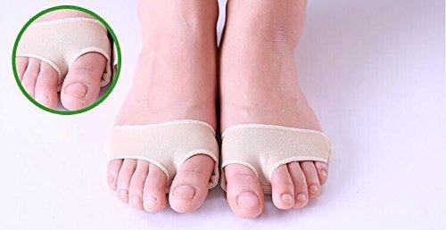 Deodorant Moisturizing Moisturizer (JERN Foot Care Hallux Valgus Toe Protector Gel Sleeve Toe Cushion Toe Braces Sock Metatarsal Strap (S))