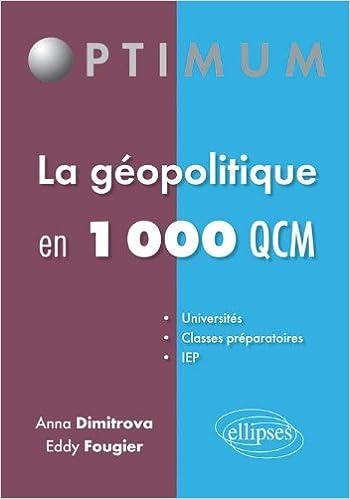 Lire en ligne Géopolitique en 1000 QCM pdf