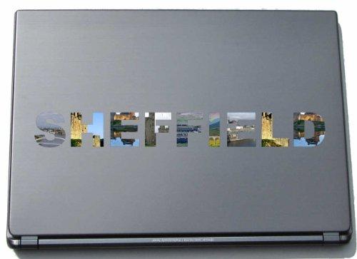 Sheffield Laptop Sticker Laptop Skin 290 mm with sights