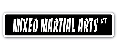 """MIXED MARTIAL ARTS Street Sign mma sport fight fighters wrestling 