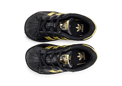 Chaussures adidas – Superstar I noir/or/or