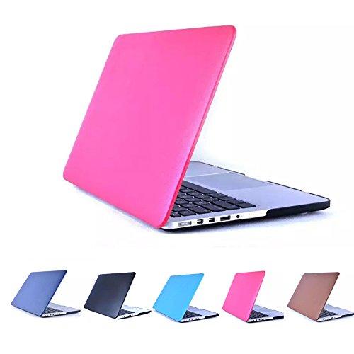 YIYINOE - Pro 15 inch Ultralight Ultrathin Plastic + PU Leather Hard Case for Apple Macbook Pro 15.4