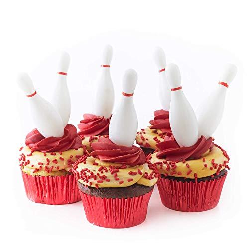 - Cakegirls Bowling Cupcake Toppers Kit - (18) 3