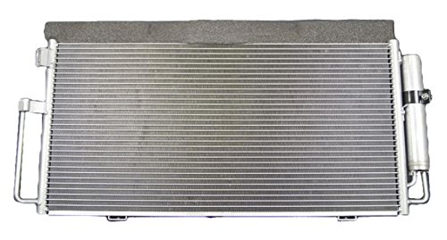 A-C Condenser - Pacific Best Inc For/Fit 3108 02-03 Subaru Impreza WRX Outback Sport