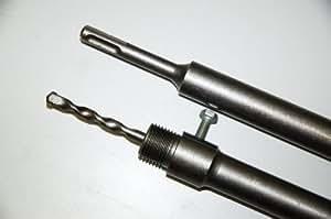 CTT SDS Plus 600mm M22alargador para–Corona Corona de perforación y Hammers