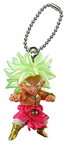 (Bandai Gashapon Dragon Ball Udm Best 22 Figure Swing Keychain~S.s Brolly)