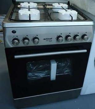 Cocina horno + encimera 4 Fuegos Itimat model I-6020T