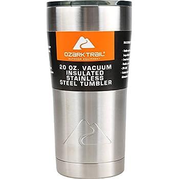 Amazon Com Ozark Trail Vacuum Insulated Powder Coated Stainless Steel Tumbler 30 Oz