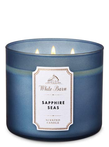 White Barn Sapphire Seas 3-Wick Candle 2019 ()