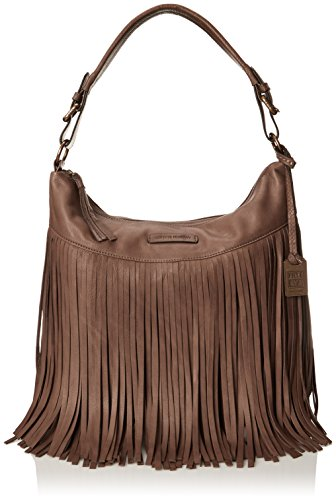 FRYE Heidi Fringe Hobo Bag