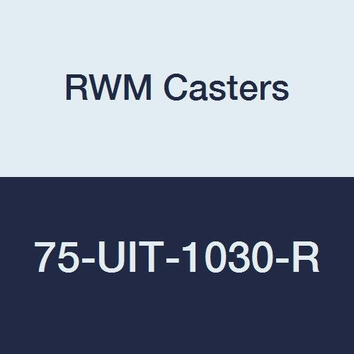 RWM Casters 75-UIT-1030-R 75 Series 11-1/2'' High, 10'' Urethane on Iron Wheel, Rigid Caster by RWM Casters (Image #1)