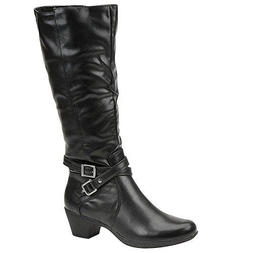 Axxiom Rianna Womens Boot 7 B (m) Us Black