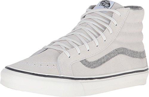 Vans Unisex SK8-Hi Slim Sneaker (5 B(M) US Women / 3.5 D(M) US Men)