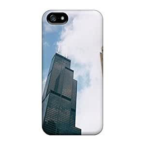 Snap-on Case Designed For Iphone 5/5s- The Three Towers Of Chicago