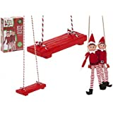 "PMS 5""X2"" POLYSTONE 'ELF SWING' IN PRINTED BOX THEN 18PC D/B"