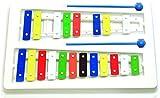 Goldon 11006 20 Coloured Sound Plates Metallophone