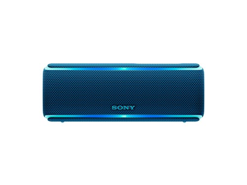 Sony SRS-XB21 Portable Wireless Bluetooth Speaker, Blue (SRSXB21/Ll)