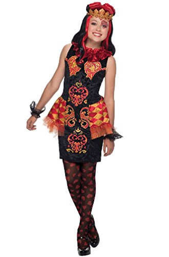 Ever After Movie Costumes (8eighteen Ever After High Lizzie hearts Child Costume -)