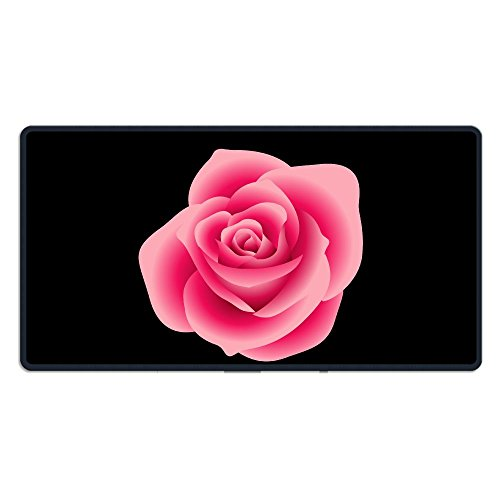 Pink Rose Clipart - Real-pink-rose-clipart-1 Large Gaming Mouse Pad Locking Edge Mouse Mat Speed/Control Version For Dota Warcraft Mousepad