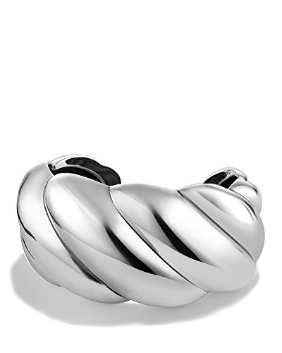 Cuff Yurman Bracelet David (DAVID YURMAN Brand New XL Sculpted Cable Cuff Bracelet. Size M # 14B)