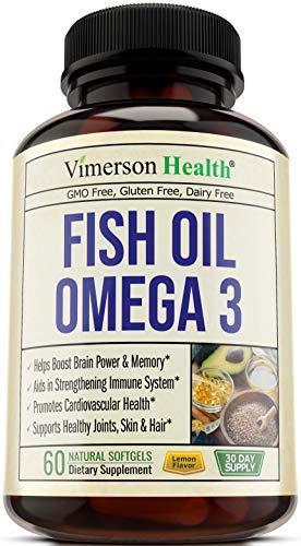 Fish Oil Omega 3 Supplement. Norway Sourced. Helps Boost Brain Power, Memory, Focus, Cognition. Promotes Cardiovascular and Immune Health. Supports Healthy Joints, Eyes and Skin. Essential Fatty Acids