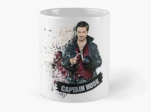 Standard Hook Captain (Captain Hook Mug, Standard Mug Mug Coffee Mug - 11 oz Premium Quality printed coffee mug - Unique Gifting ideas for Friend/coworker/loved ones)