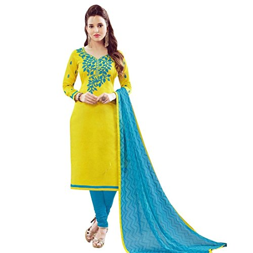 Ready-To-Wear-Sober-Chanderi-Silk-Embroidered-Salwar-Kameez-Suit