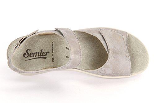 Terciopelo Semike Heike Panna Metall - H1115031028 Blanco