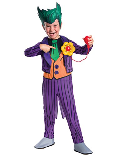 Rubie's Costume Boys DC Comics Deluxe The Joker Costume, Small, Multicolor -