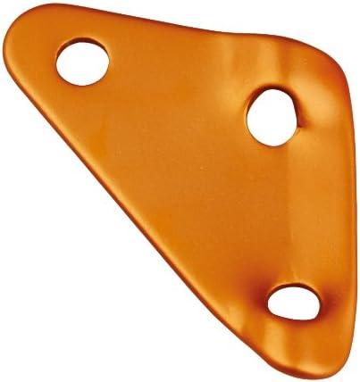 10 St/ück Zeltzubeh/ör Seilspanner AceCamp Dreilochspanner Orange 9117 Alu-Spanner Zeltleinenspanner
