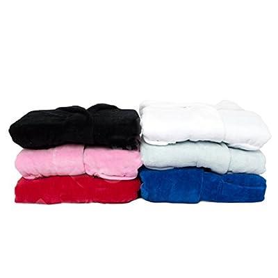 Kids Velour Hooded Bathrobe Terry Velour Hooded Bathrobe %100 Cotton for Kids