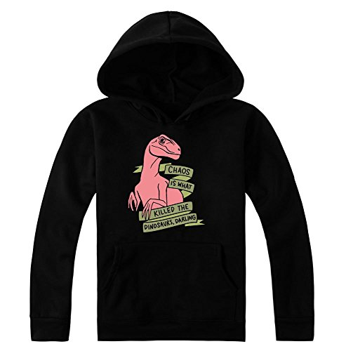Chaos Is What Killed The Dinosaurs Darling Women's Hoodie Pullover