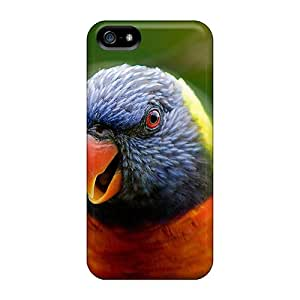 New Design Shatterproof STUWUqW5256gBMwd Case For Iphone 5/5s (cute Parrot)