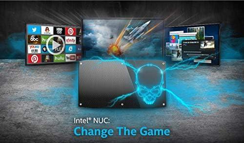 Intel Skull Canyon NUC 6 Performance Kit NUC6i7KYK Business & Home & Gaming Mini PC Desktop (Quad-Core i7-6770HQ, 32GB DDR4 RAM, 1TB SSD) Thunderbolt 3, Windows 10 Pro, IST Computers Power Cable
