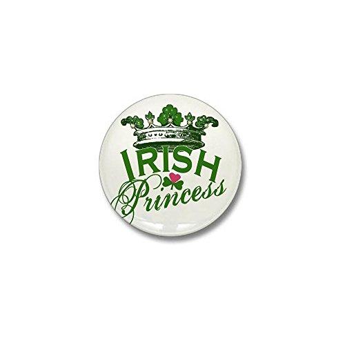 CafePress - Irish Princess Tiara Mini Button - 1