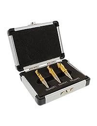 ABN para puntos de soldadura CORTADOR broca 3 piezas acero de alta velocidad HSS cobalto con revestimiento de titanio brocas de removedor de soldadura Kit de herramientas