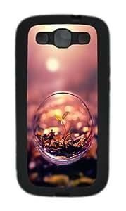 Beautiful Macro Photography Plant Water Bubble Custom Design Samsung Galaxy S3 Case Cover - TPU - Black