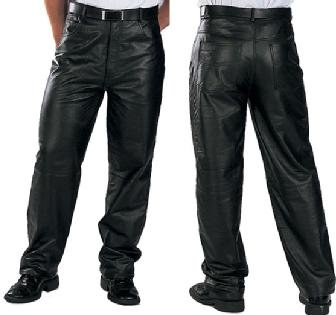 Leather Motorcycle Pants For Men - 5