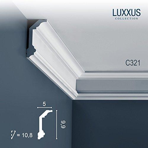 Orac Decor C321 LUXXUS ceiling coving decoration cornice moulding 2 m by Orac Decor