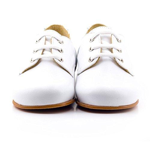Boni Classic Shoes - Zapatos primeros pasos de Otra Piel para niña blanco