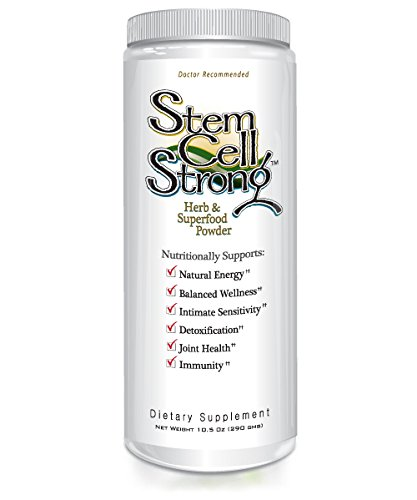 Stem Cell Strong Superfood - Immunity, Joint Support, Energy, Inflammation, Hormonal Function - Made with Organic, Vegan, Non GMO, Whole Raw Food Ingredients