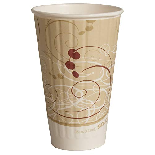 Duo Shield Case - Solo IC16-J8000 16 oz Symphony Duo Shield insulated Paper Hot Cup (Case of 525)