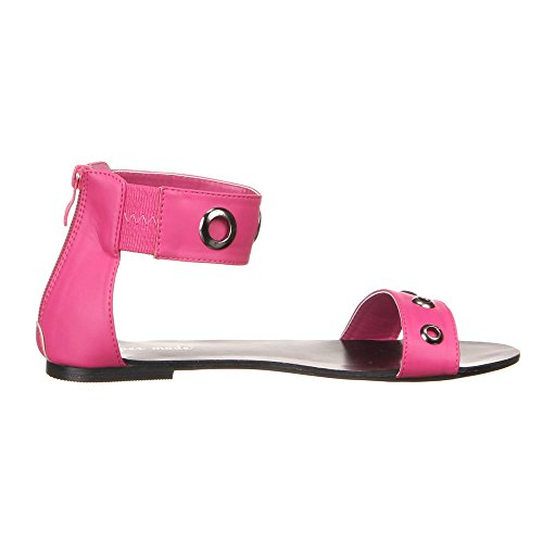 Ital-Design - Tira de tobillo Mujer Rosa - rosa