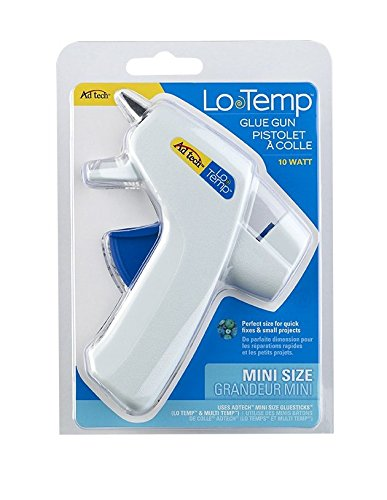 Adtech Lo Temp Mini Glue Gun   Low Temp Compact Tool For Crafting  School Projects And Diy   Item 0450