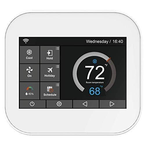 Karandash F-22 Touch Wi-Fi Thermostat with Touchscreen Color