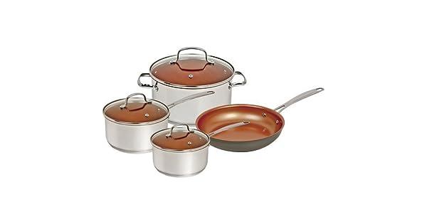 Amazon.com: Nuwave Utensilios de cocina Set, plata, 7 pieza ...