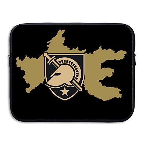 (XJBD Army West Point Rep Your Team Water-resistant Notebook Protector Bag 13-15 Inch)