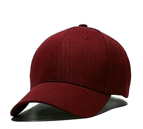 Llxln Tapa Plana Ajustable De Alta Calidad Hombres Mujeres Deportes Hat  Solid Moda Casual Gorras Snapback Hip Hop Gorra De Béisbol E  Amazon.es   Deportes y ... 8e687103e63