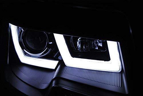 T5 GP Scheinwerfer Led Tagfahrlicht Light Tube in schwarz U-Type 11//2009-06//2015