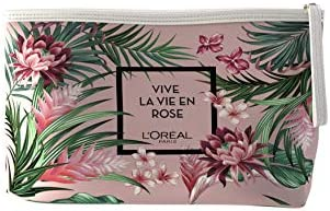 L'Oréal París - Set de Regalo, Incluye Neceser, Crema de Día Golden Age SPF20, Agua Micelar Age Perfect